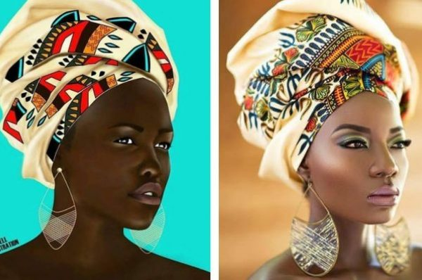 Cameroon: F.Kendell Fashion Illustration