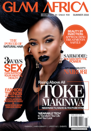 Toke Makinwa cover