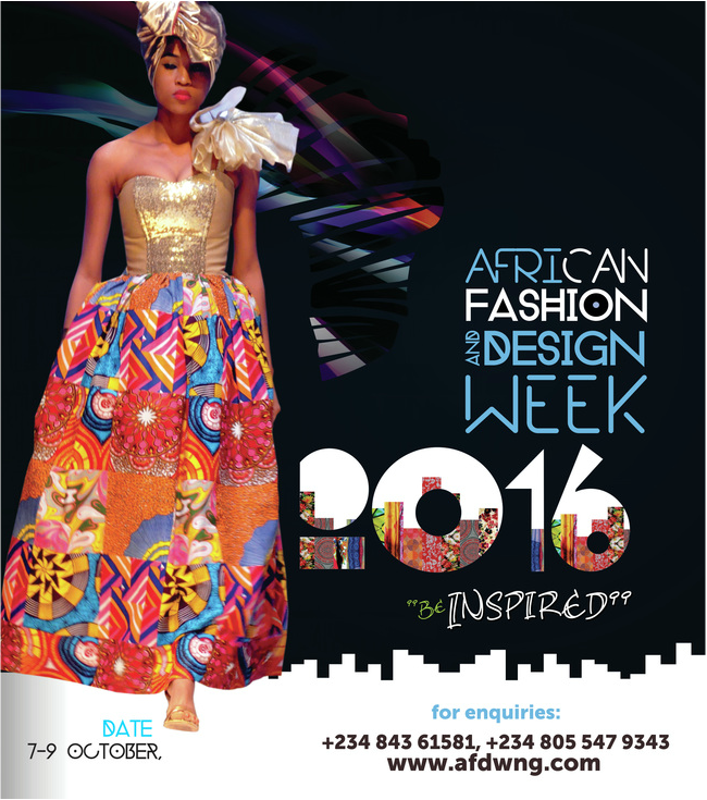 African fashion and design week 2016
