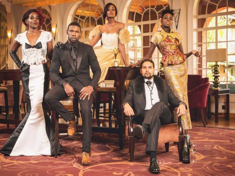 Kenya Fashion Awards promo photo shoot