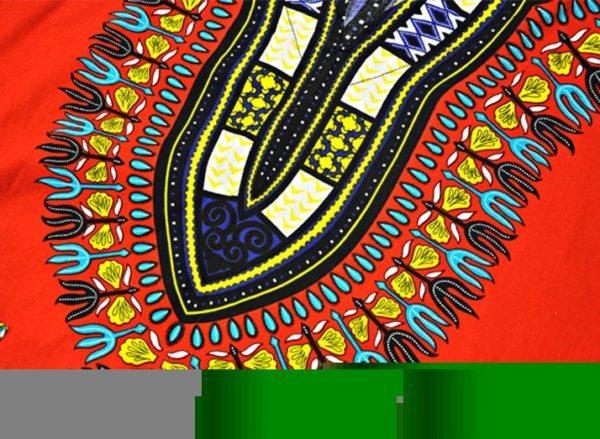 African fashion print