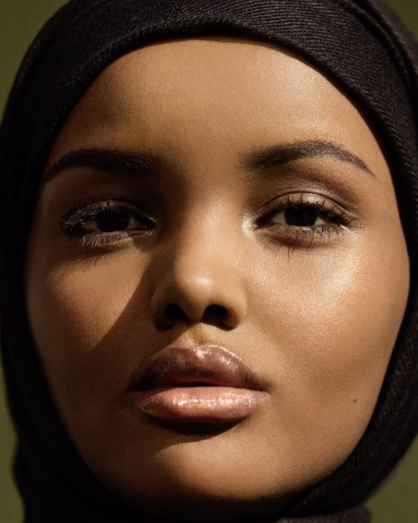 Halima Aden fenty beauty