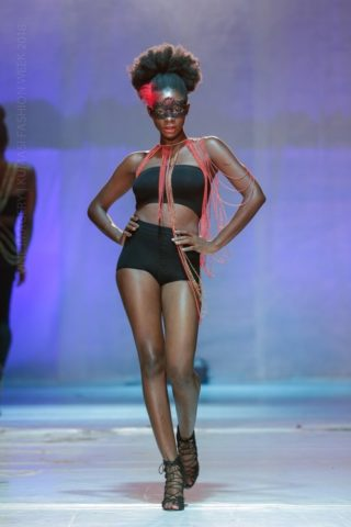 Kumasi fashion week 2018 Nabie Beads