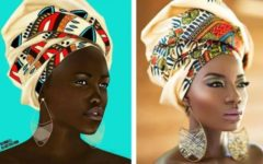 Cameroon: F.Kendell Fashion Illustration