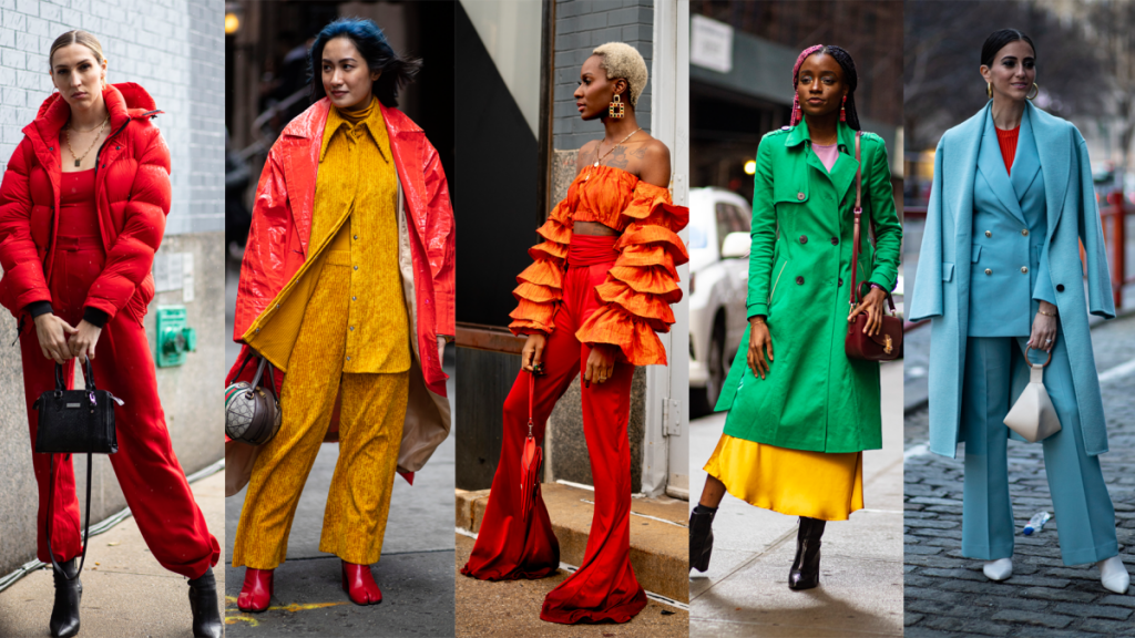 New York fashion weeks street style