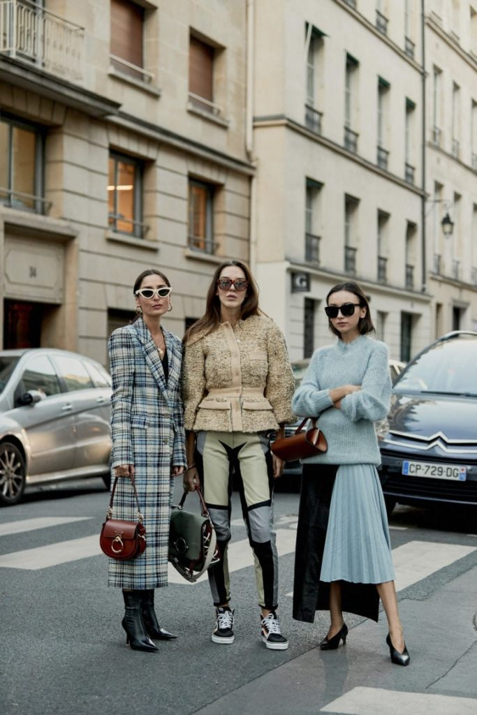Paris fashion weeks street style